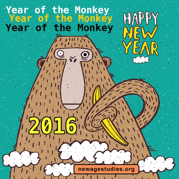 Year of the Fire Monkey 2016