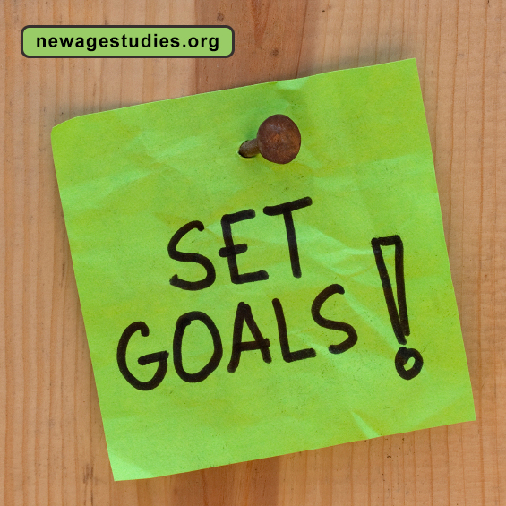 set goals for new year