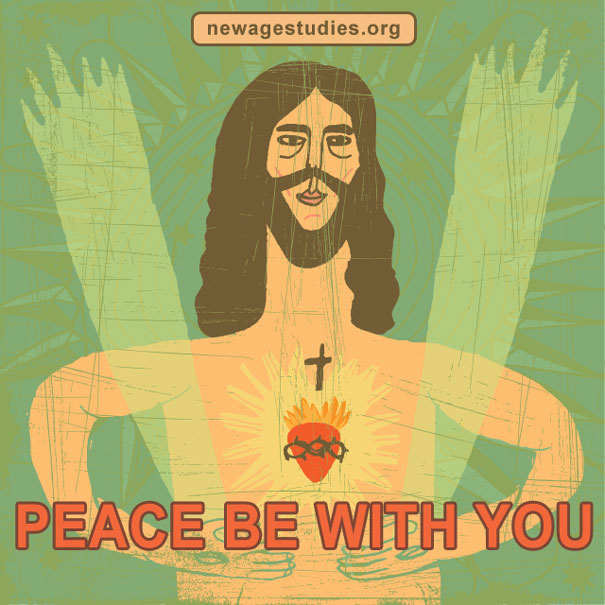 Peace be with you from Jesus