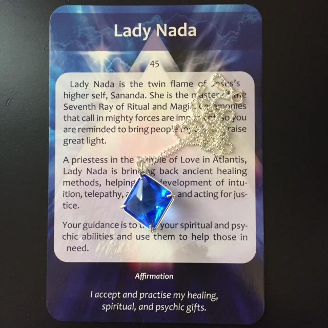 Vogel Cut Quartz Necklace – Angel Tarot Card Readings