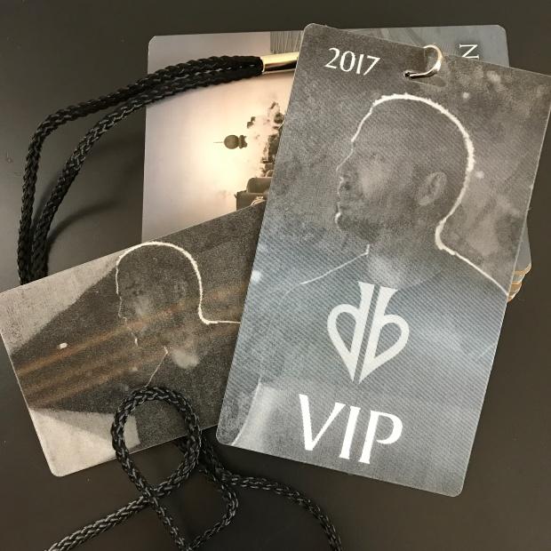 David Blaine VIP package gift bag photo