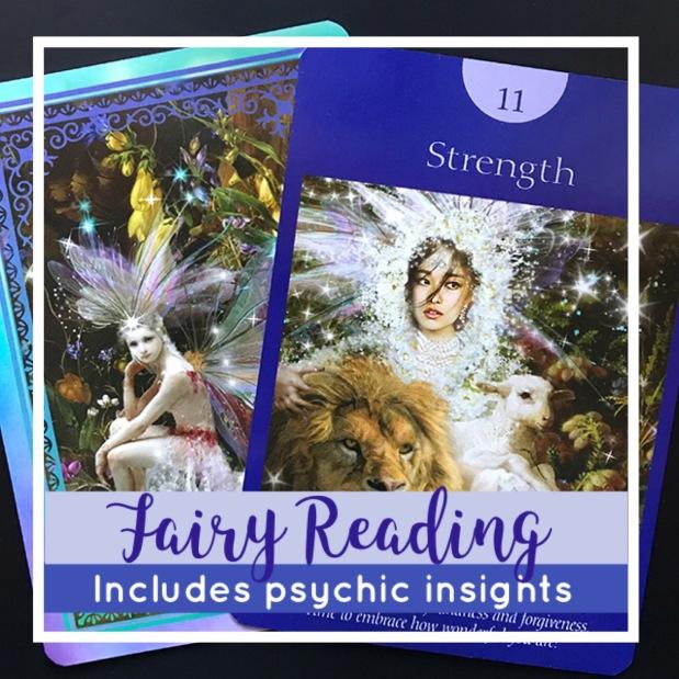 fairy reading on Etsy