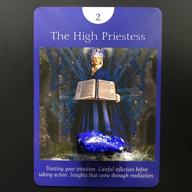 High Priestess Tarot card image