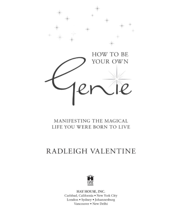 how to be a magical genie book