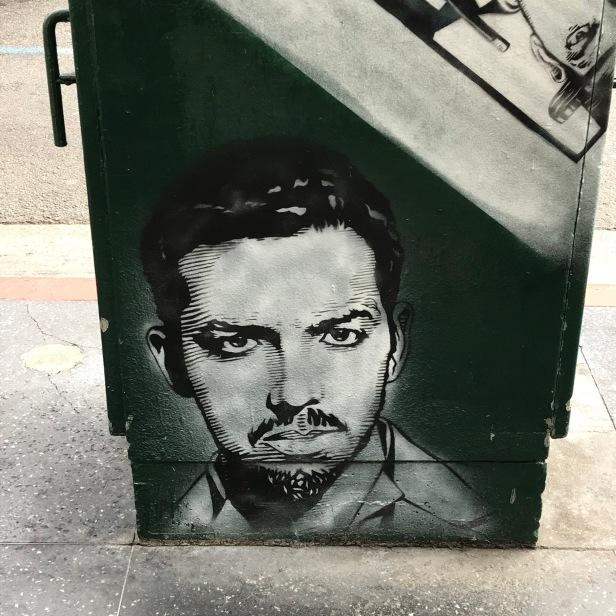 On Hollywood Blvd.