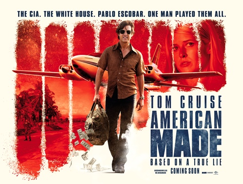 American Made drug movie with Tom Cruise