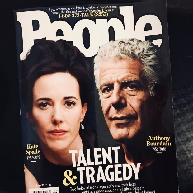 Anthony Bourdain suicide People magazine cover